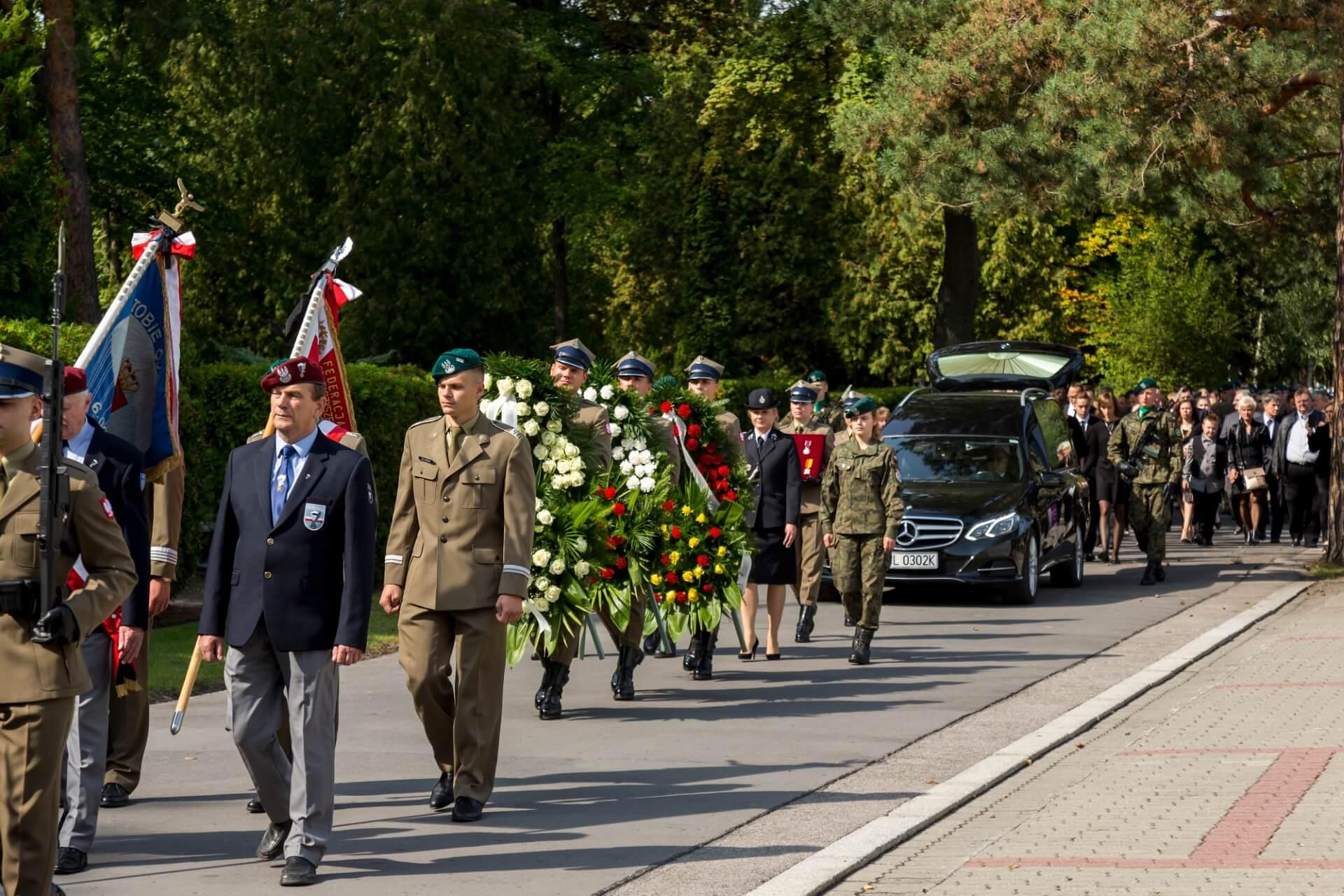 pogrzeby wojskowe