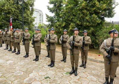 Uroczysty pogrzeb wojskowy