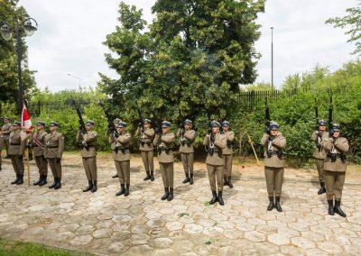 Wojskowy pogrzeb